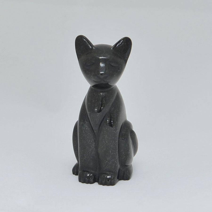 Кот высокийиз черногонефрита