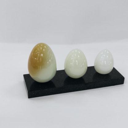 Нефрит набор яиц#02-6-08